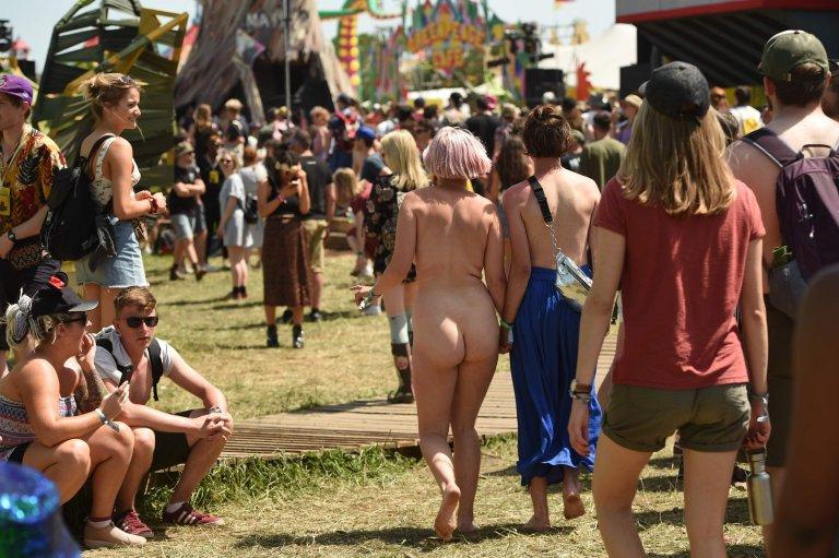glastonbury nude