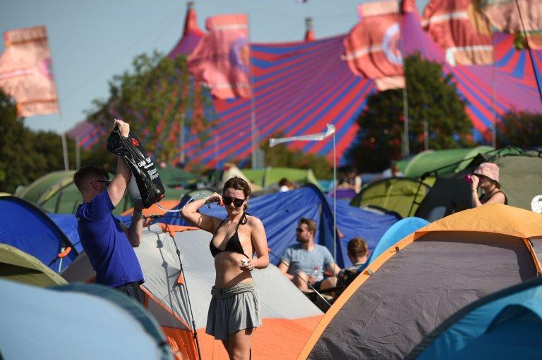 gastonbury tents