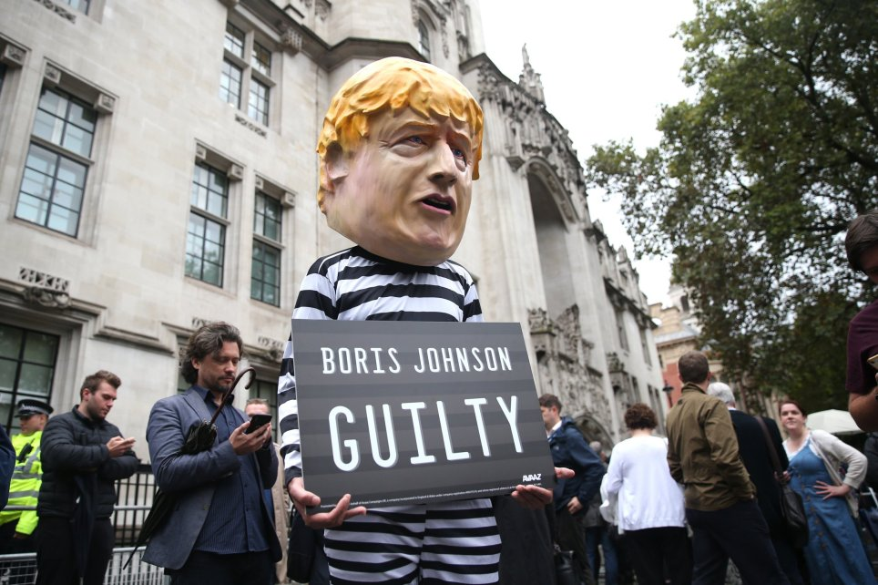boris johnson prime minister