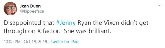the chase jenny ryan twitter