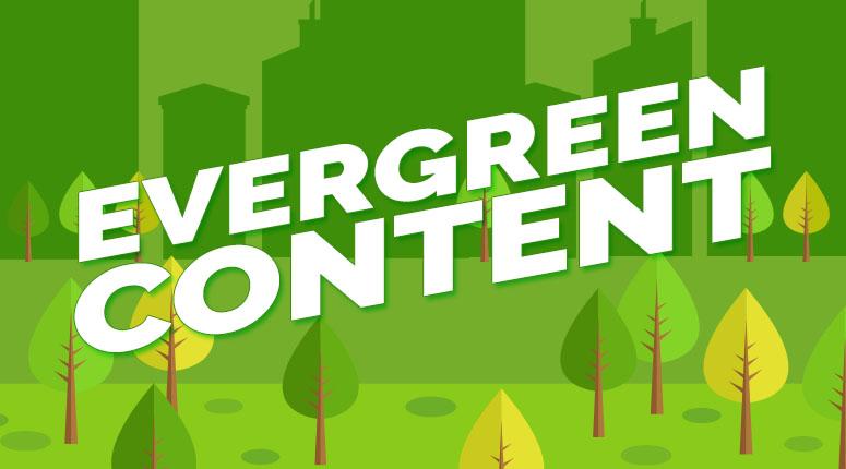evergreen content publish