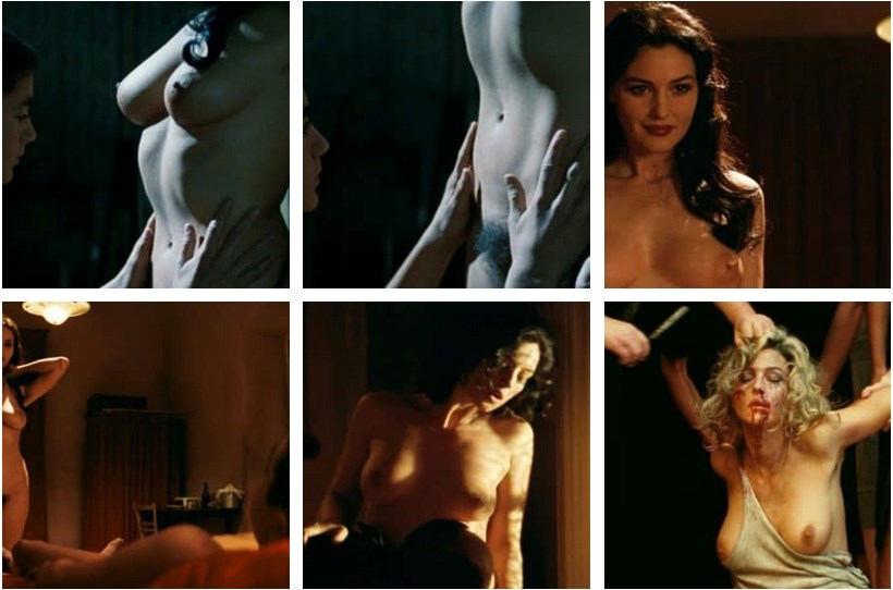 Monica Bellucci Nude, Naked