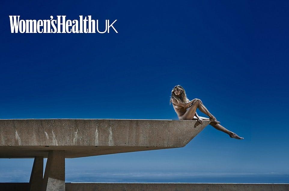 Chrissy Teigen Strips for Women's Health