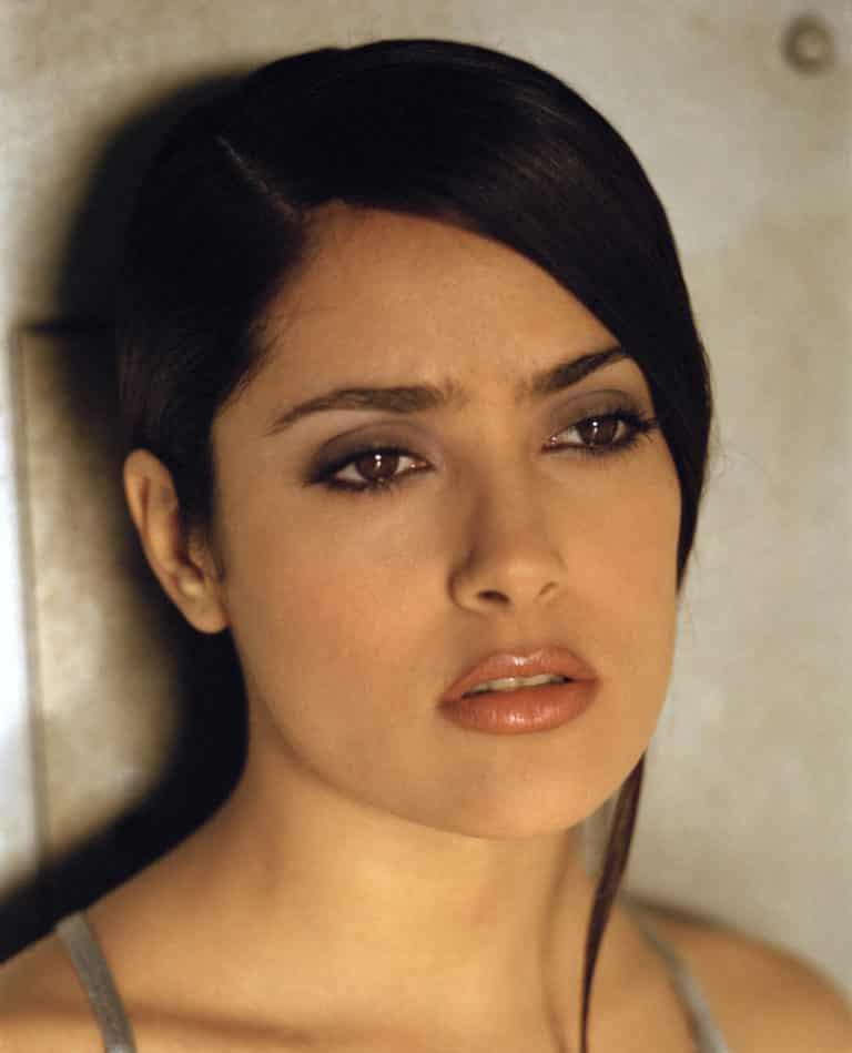 Salma Hayek Modeling