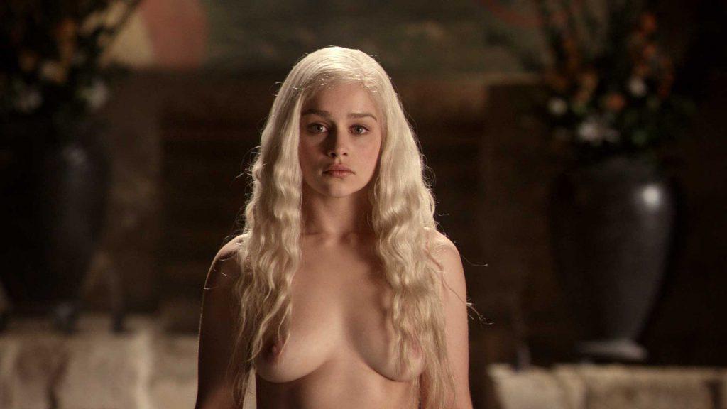 Emilia Clarke nude Game Of Thrones