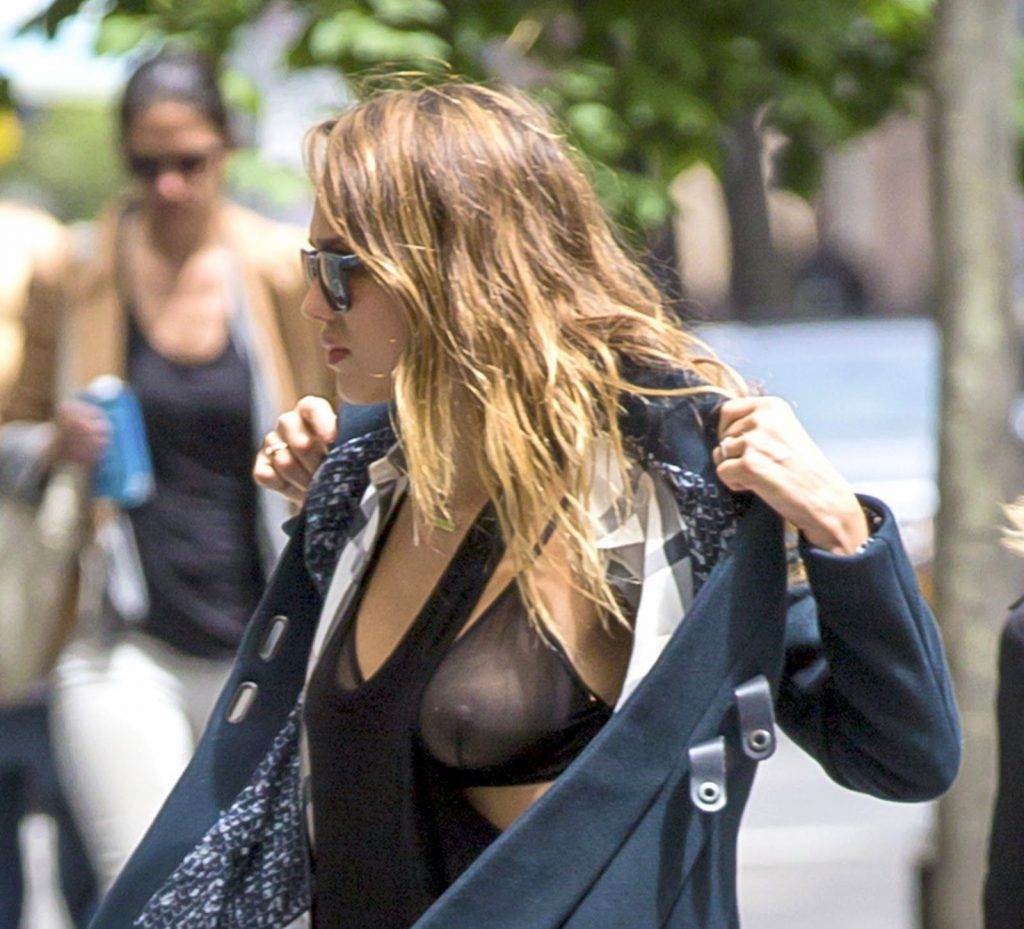 Jessica Alba See Through Pics & Nipples