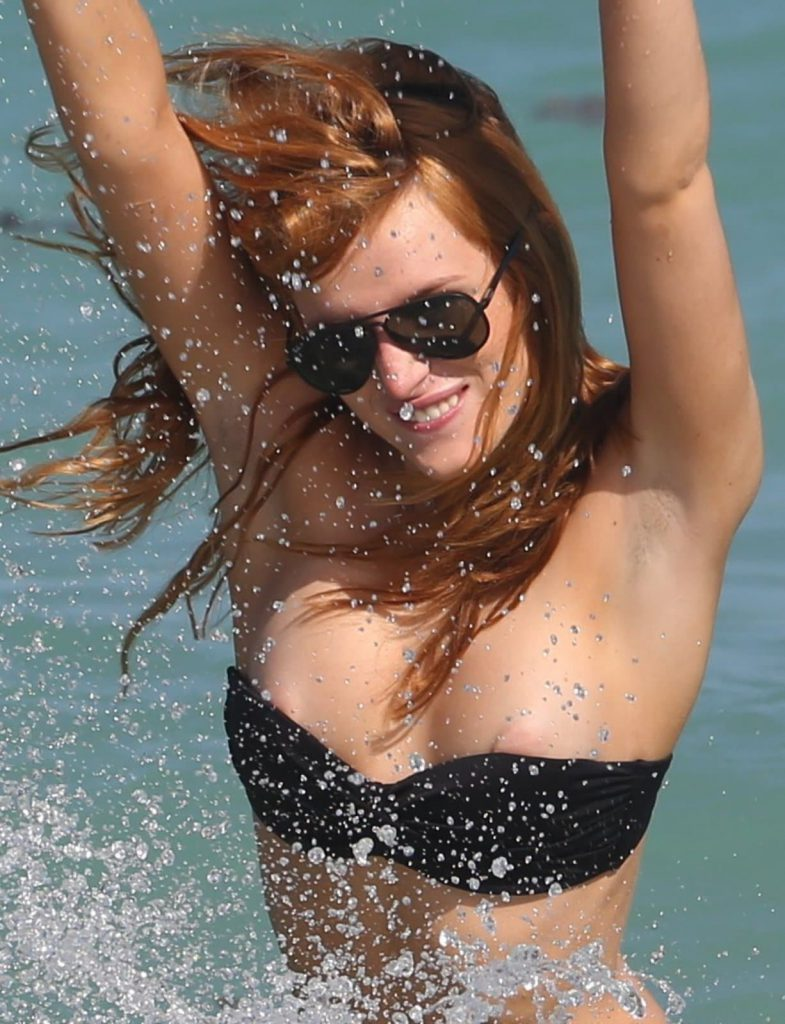 Bella Thorne Nip Slips