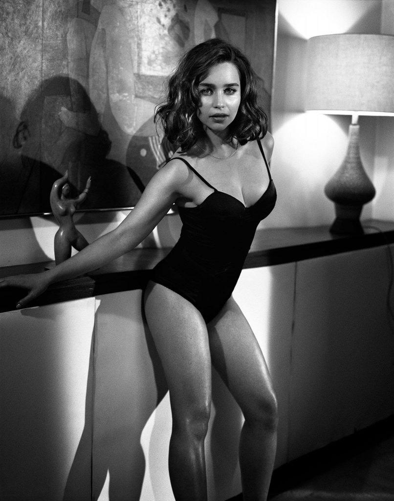 Emilia Clarke Hot Esquire Shoot