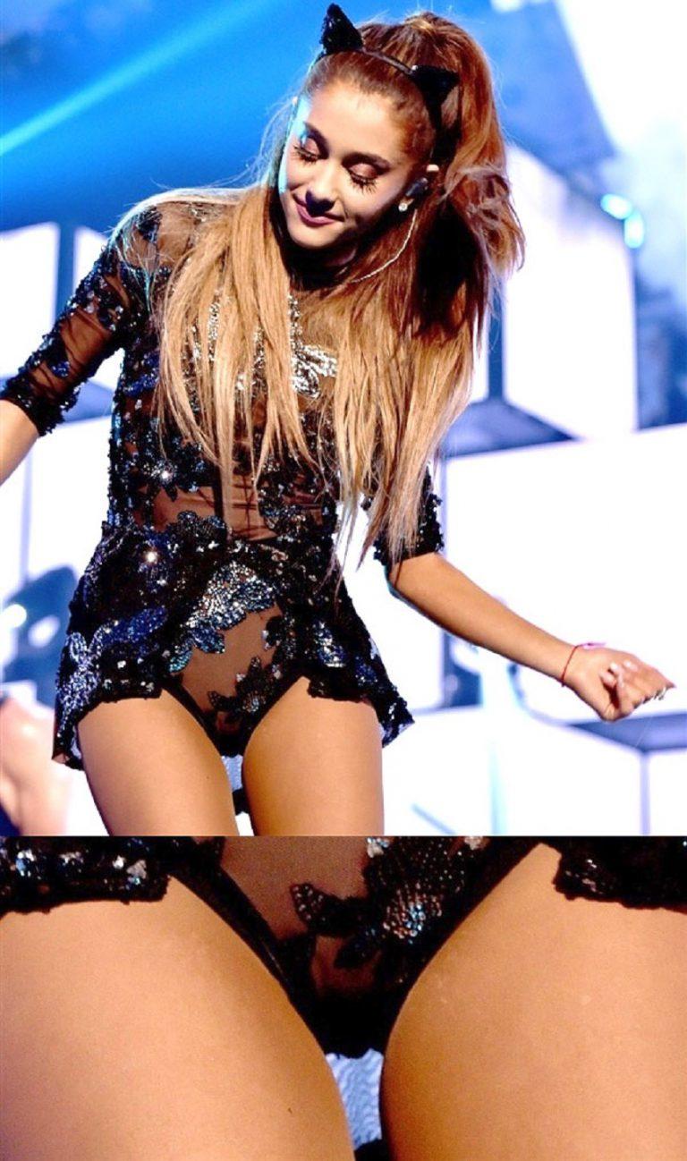 Ariana Grande Denies Leaked Nude Photos - YouTube
