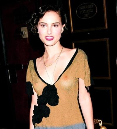 Natalie Portman See Through Pictures