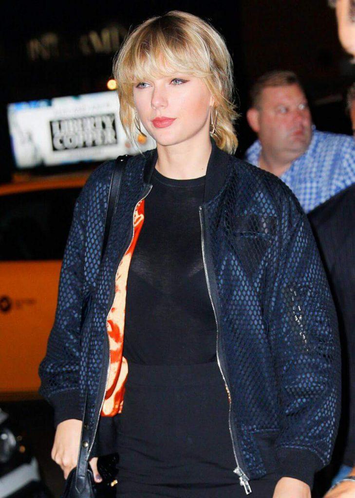 Taylor Swift Nip Slip & See-Through Photos