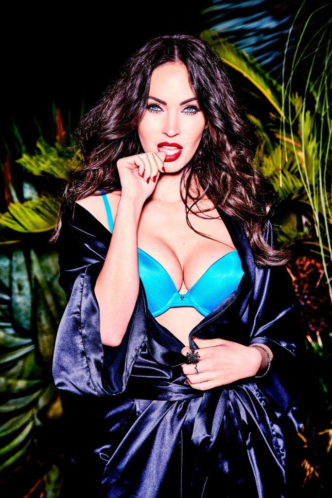 Megan Fox Sexy Lingerie Photos