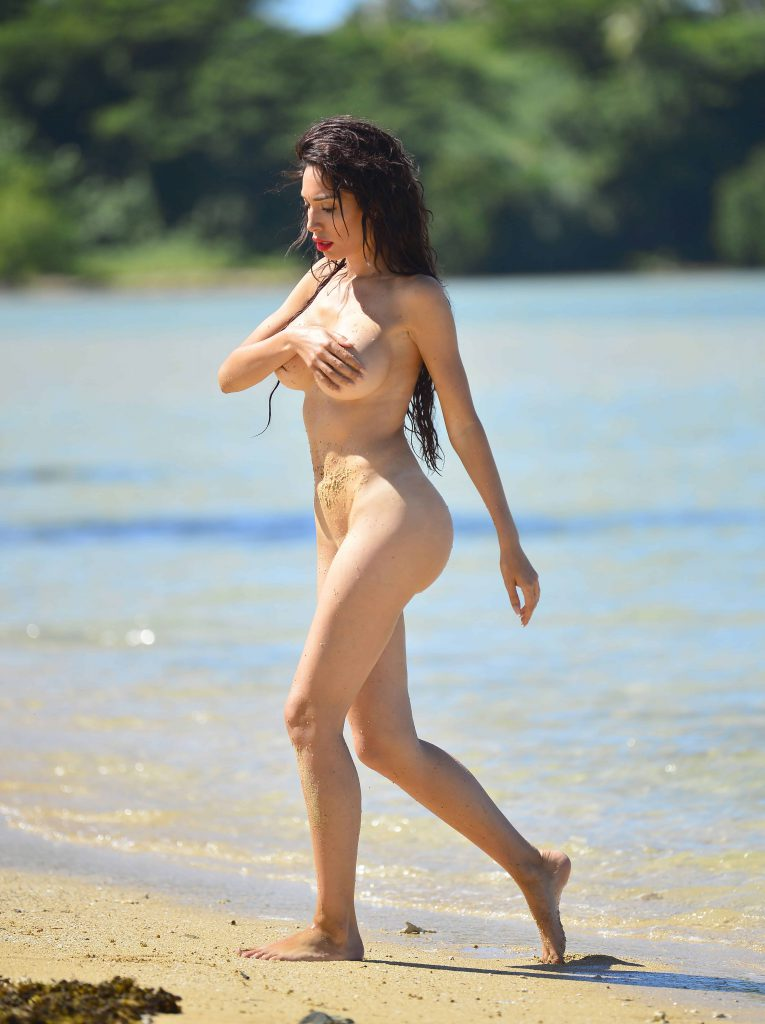 Farrah Abraham Naked Photo Shoot