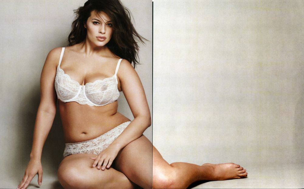 Ashley Graham Nude See Through Pics