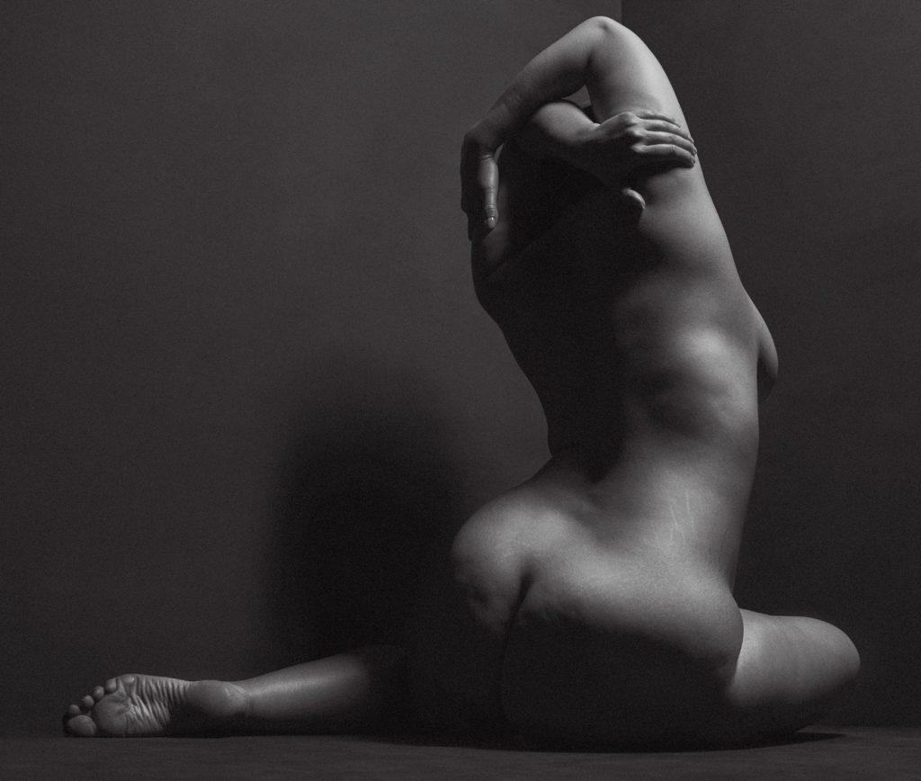 Ashley Graham Naked for V Magazine