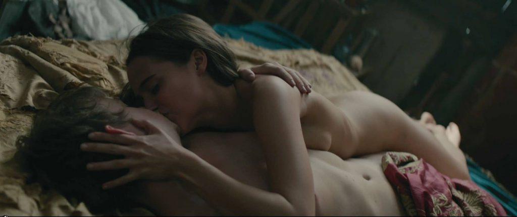 Alicia Vikander Nude Scenes in Tulip Fever