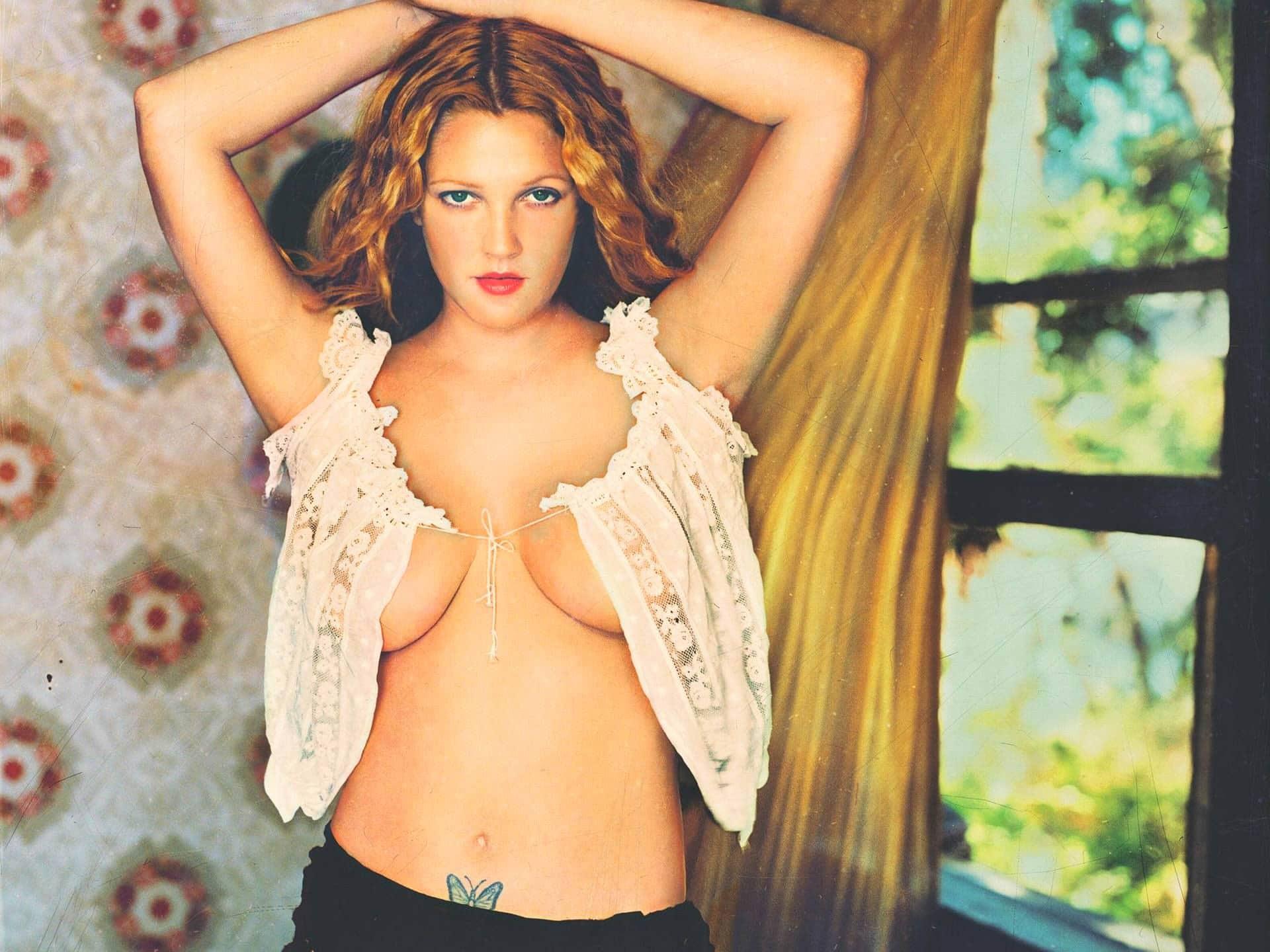 Nude photos drew barrymore