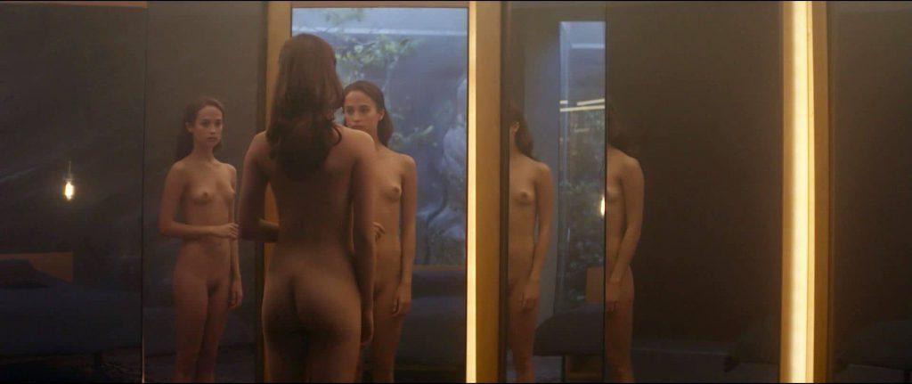 Alicia Vikander Nude – Ex Machina