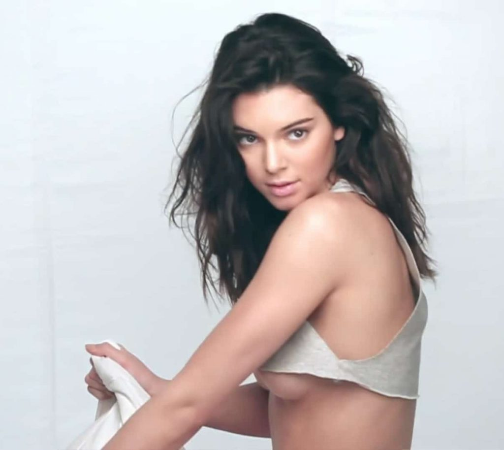 Kendall Jenner Underboob Photos