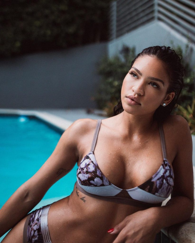 Cassie Ventura Sexy Bikini Photo