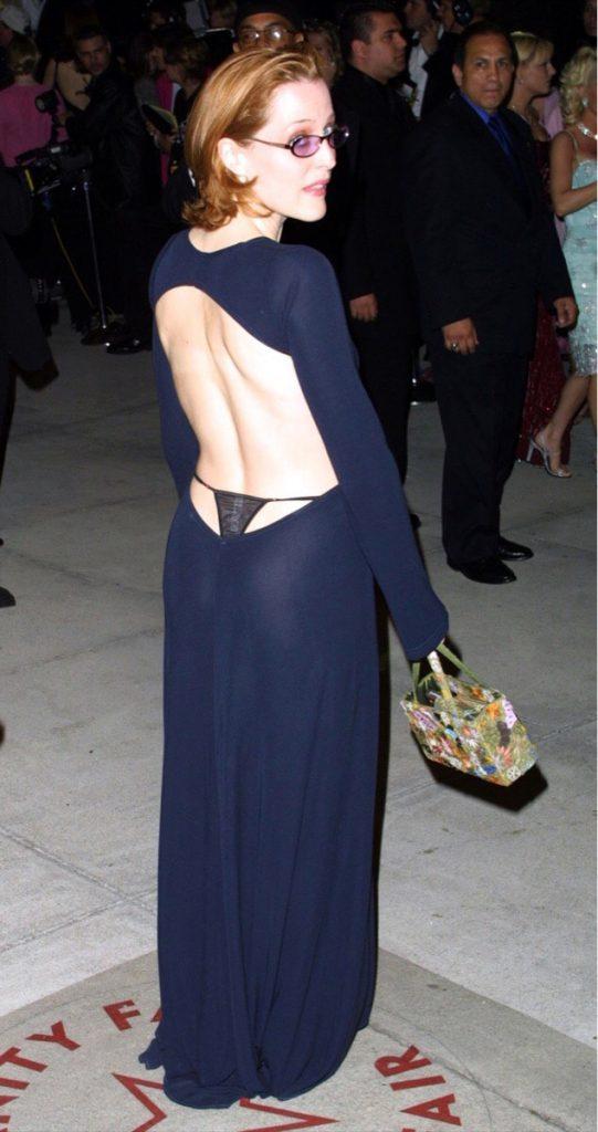 Gillian Anderson Thong Pics