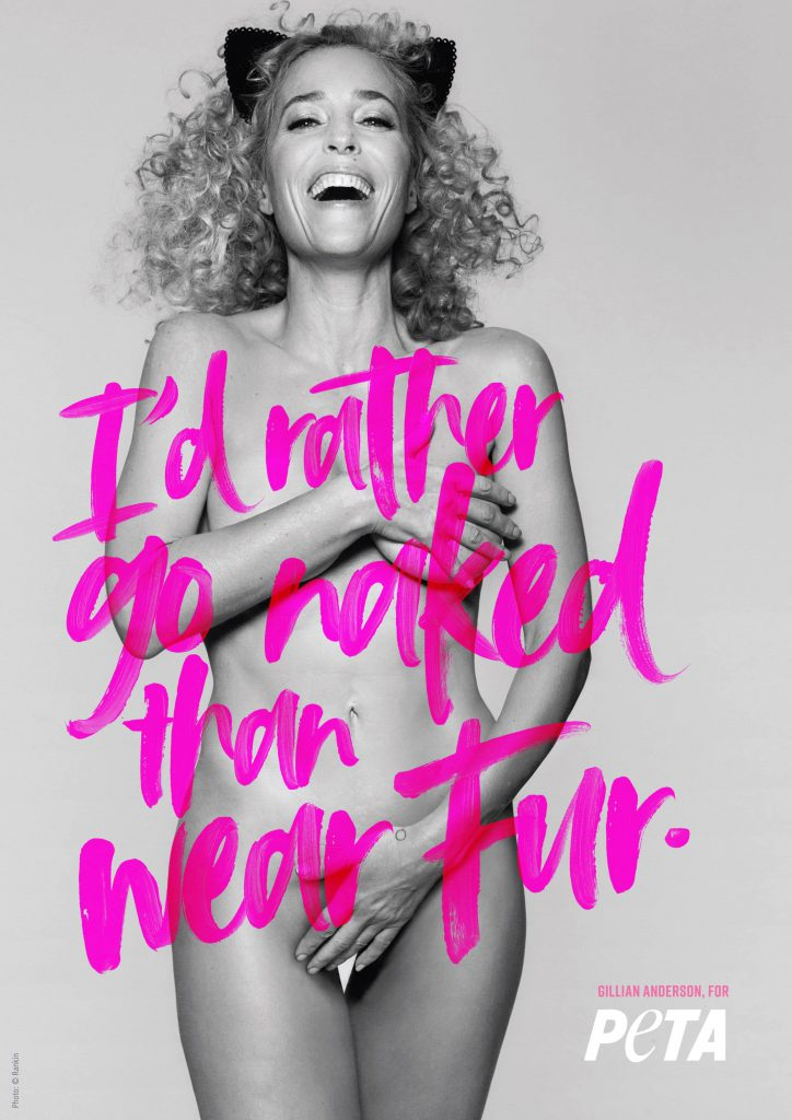 Gillian Anderson Nude Photos - PETA