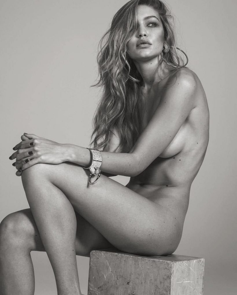 Gigi Hadid Naked Boobs – Vogue