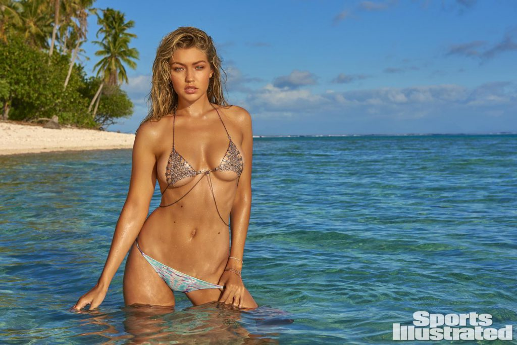 Gigi Hadid Nude – Sports Illustrated Magazine