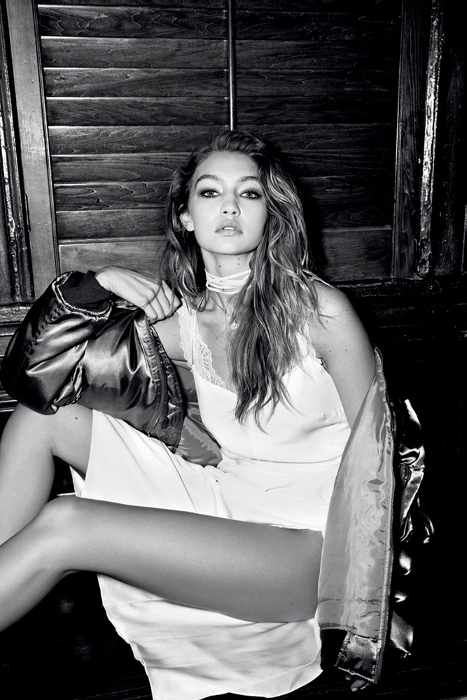 Gigi Hadid Undressed Photoshoot – Love Magazine