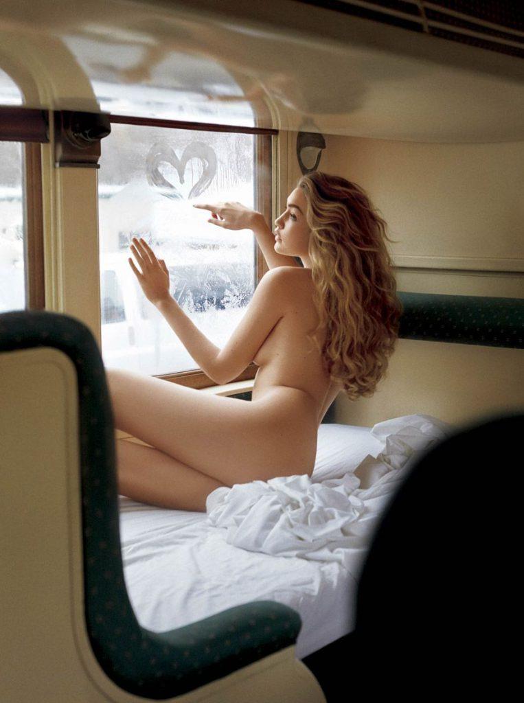 Gigi Hadid Nude – VMan Photoshoot