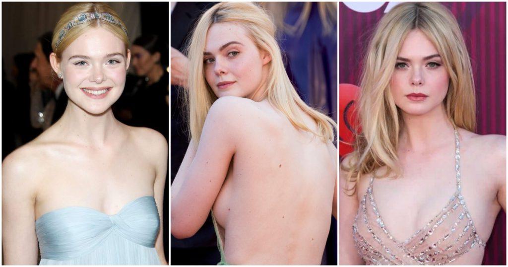 Elle Fanning naked