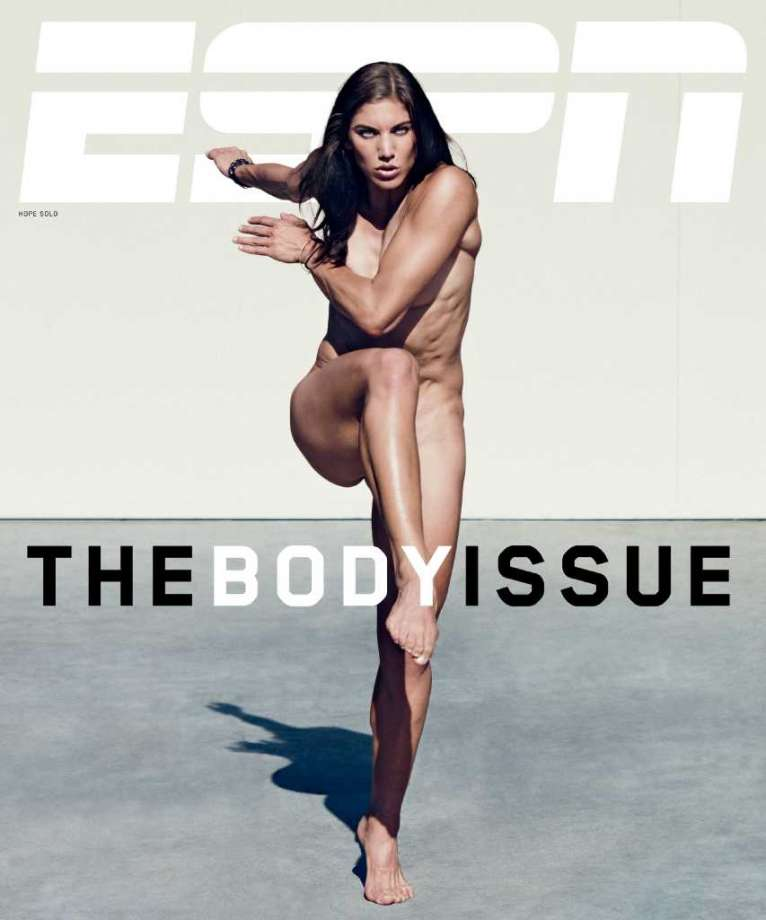 Hope Solo Nude - ESPN