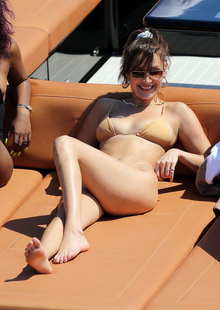 Bella Hadid Nude - Vacation Pics
