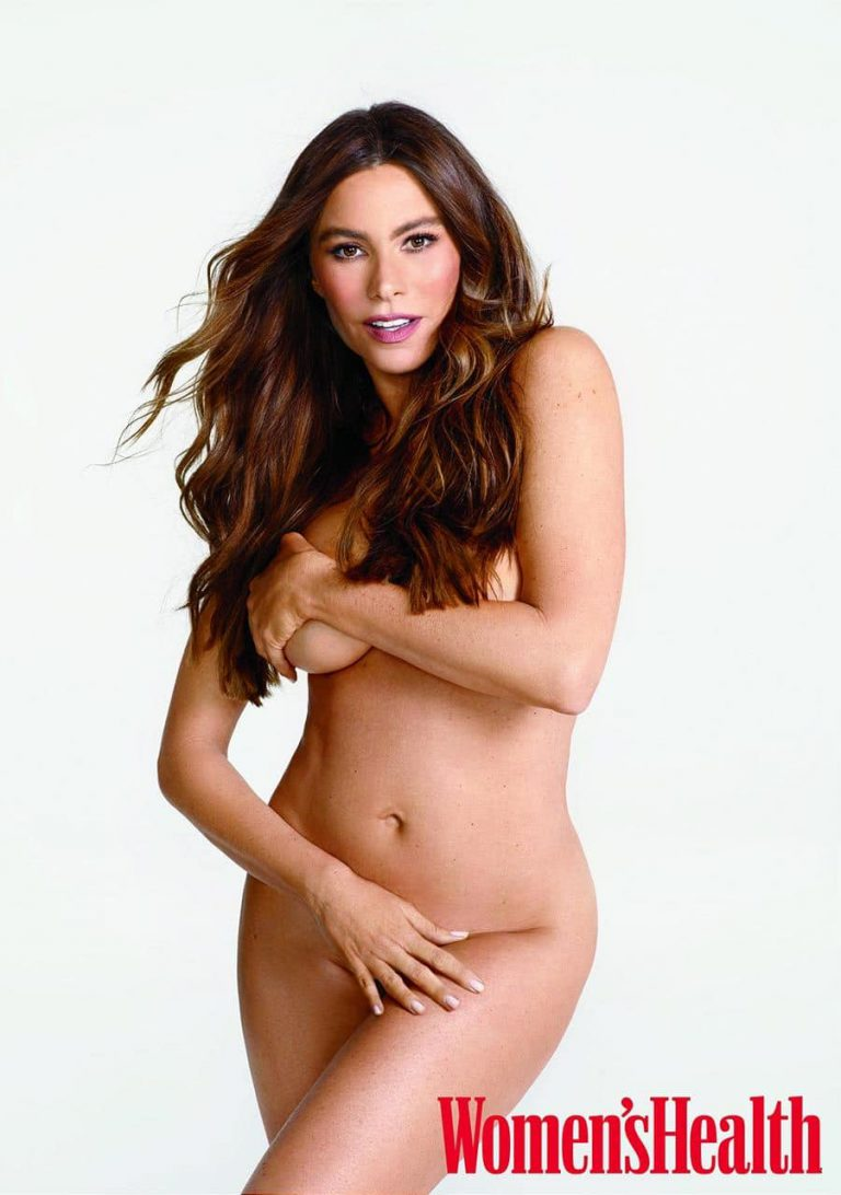 Sofia vergara looks unrecognisable and years younger in nude, make