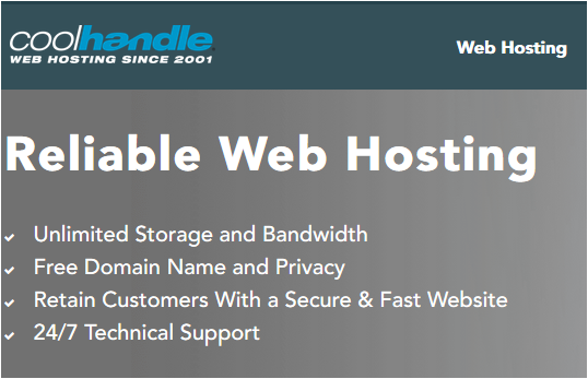 Coolhandle Web Hosting Review 2020!