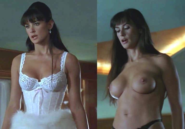 Demi moore nude boobs in striptease picture