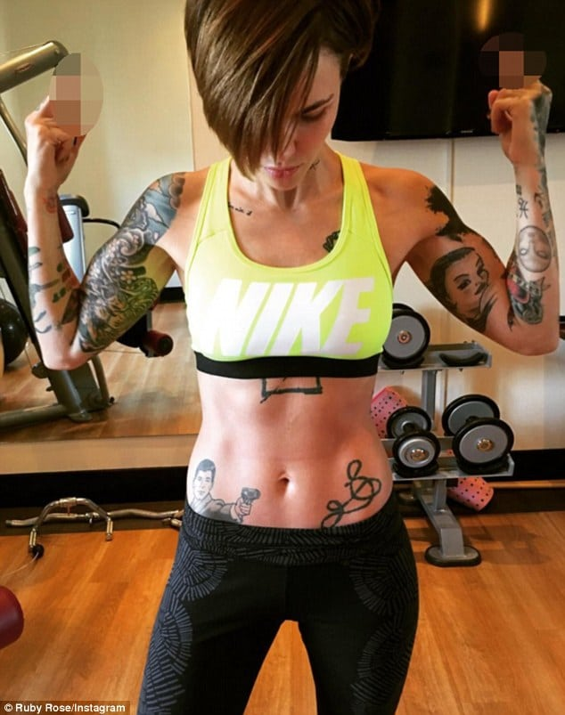 Ruby Rose Sexy Pics & Tattoos