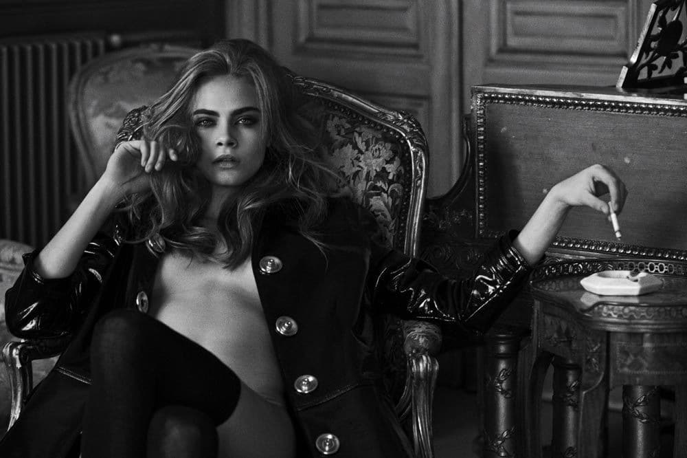 Cara Delevingne Naked Photoshoot