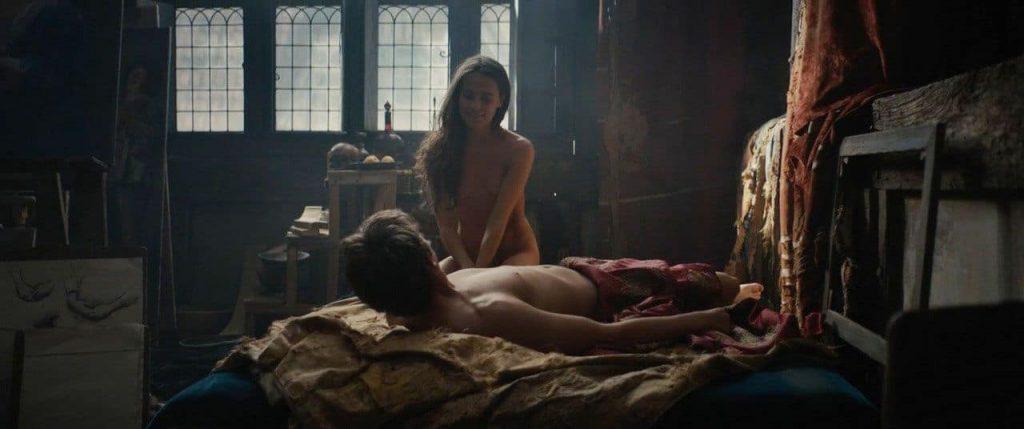 Cara Delevingne Nude Sex Scene – Tulip Fever