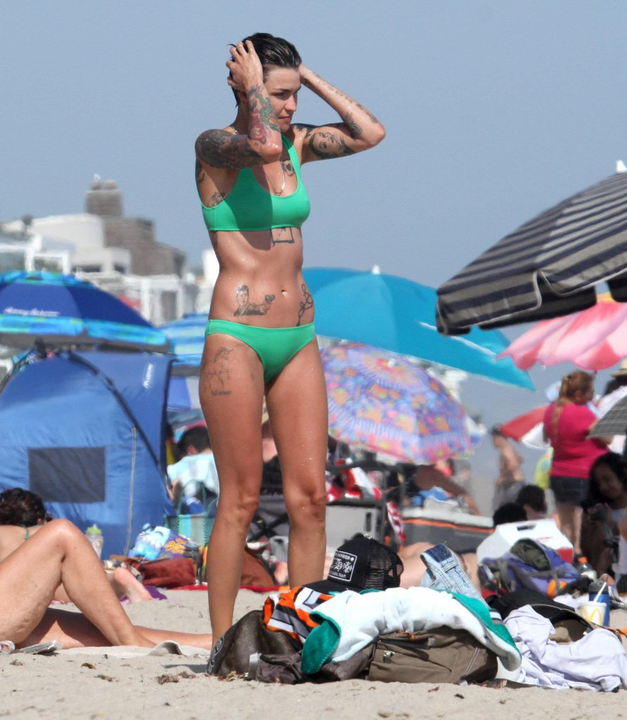 Ruby Rose Sexy Bikini Pictures