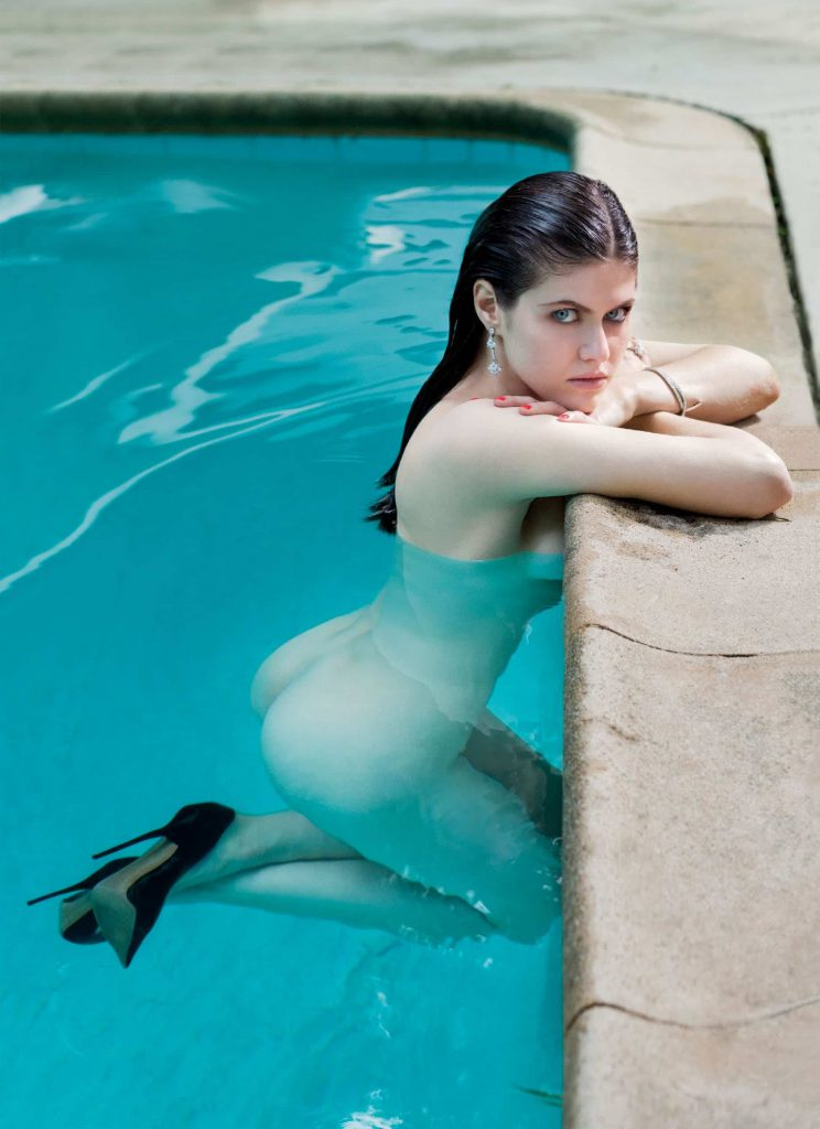 Alexandra Daddario Photos in GQ