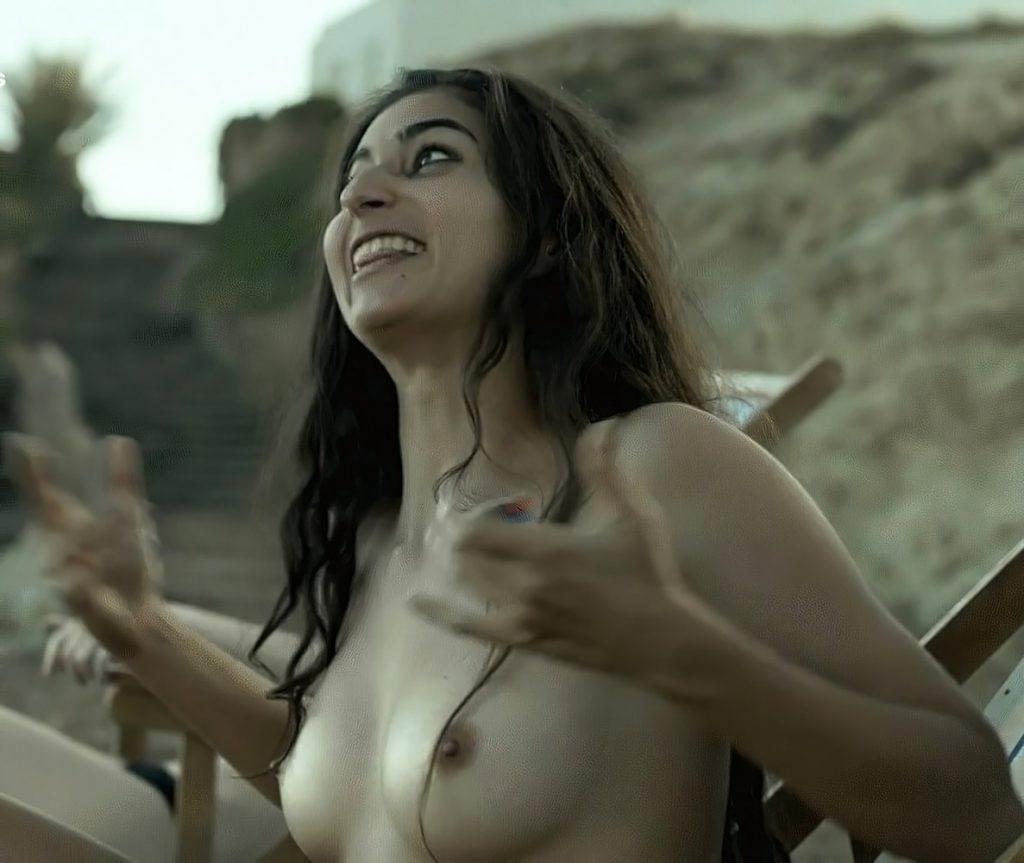 Alba Flores nude boob pics