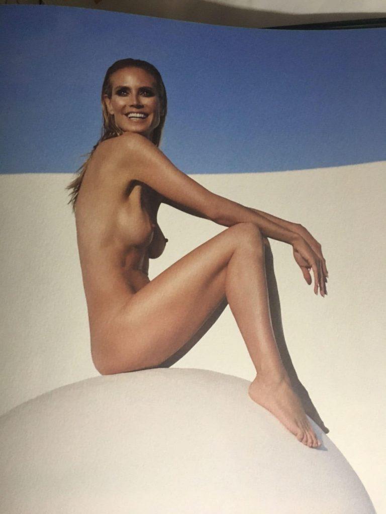 Heidi Klum Nudes naked boobs sexy pics