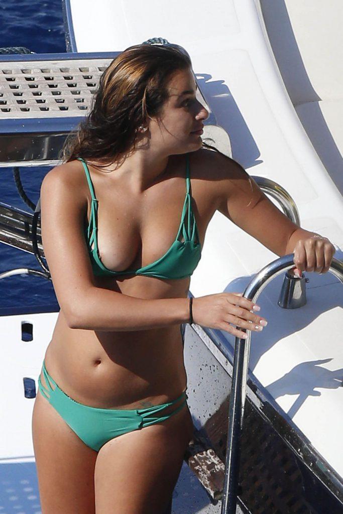 Lea Michele Nude Naked Sexy Nip Slip Pics