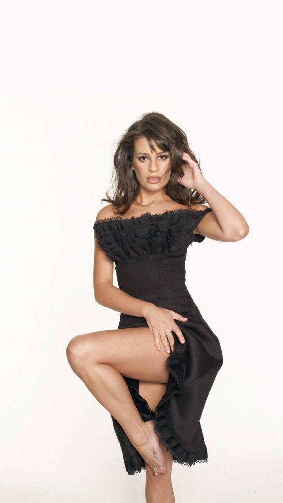 Lea Michele sexy hot nude naked celebs pics