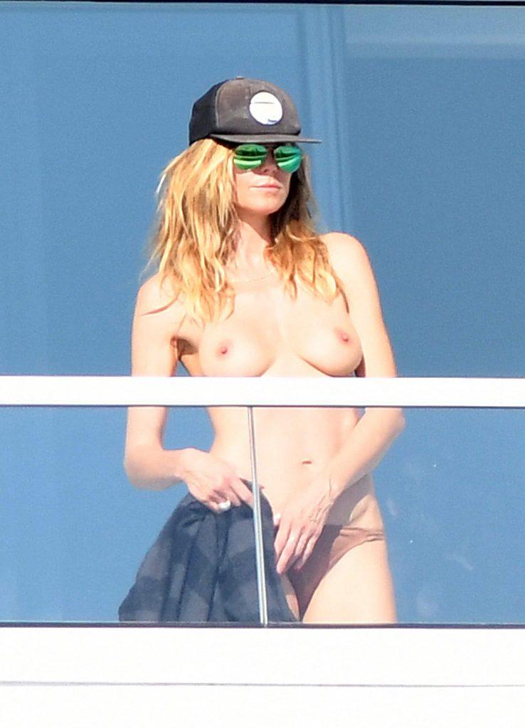 Heidi Klum Topless boobs naked nude sexy Pics