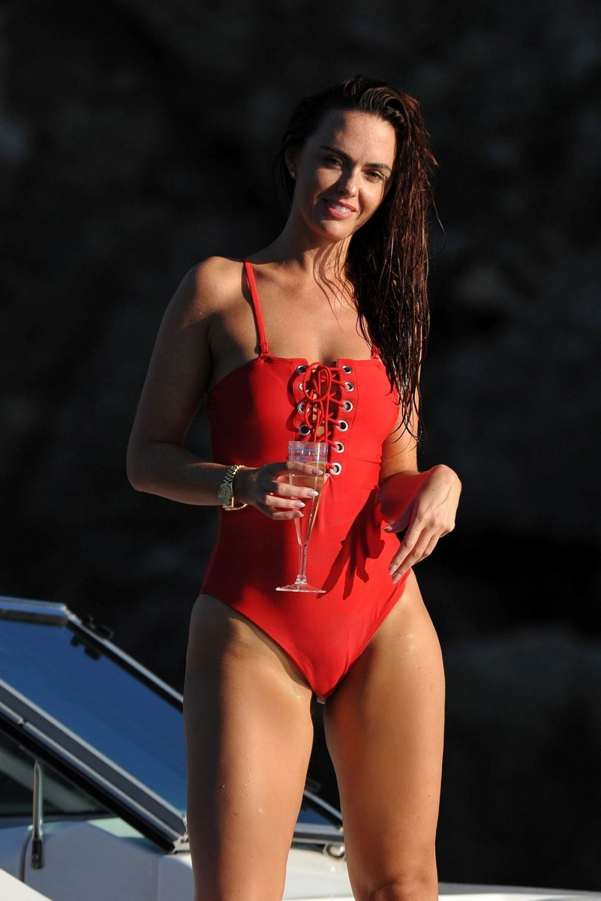 Jennifer Metcalfe Has All Eyes On Her As She Shows Off Incredible Bikini Body On The Beach