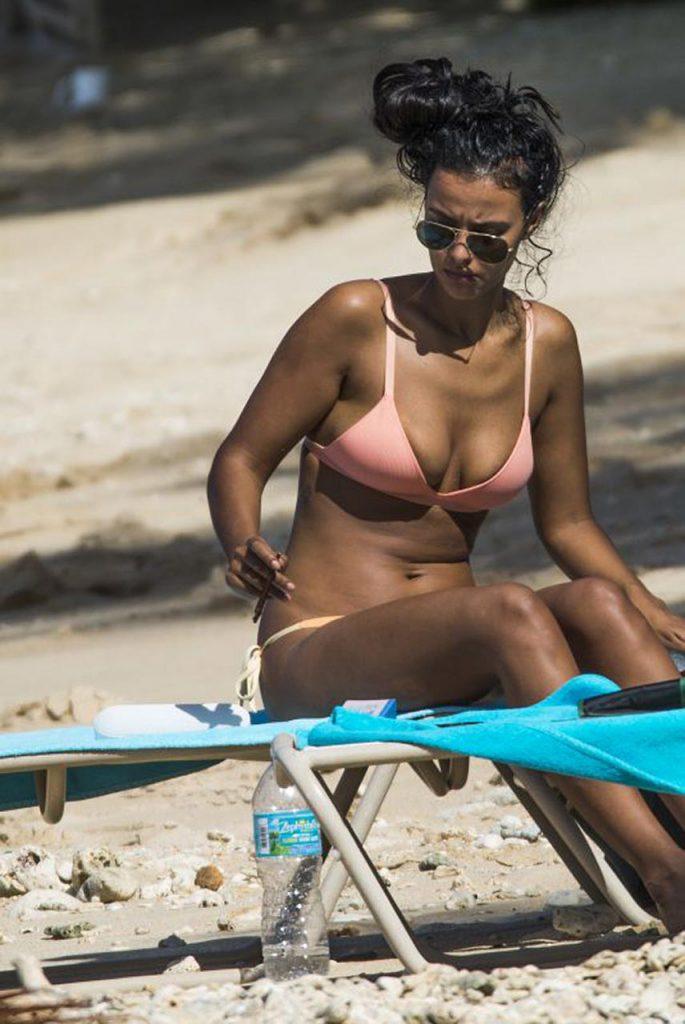 Maya Jama nude sexy hot bikini pics