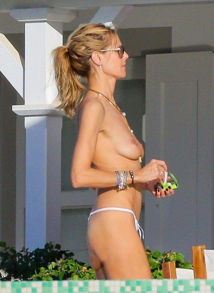 Heidi Klum Nude naked sexy boobs ass Pics