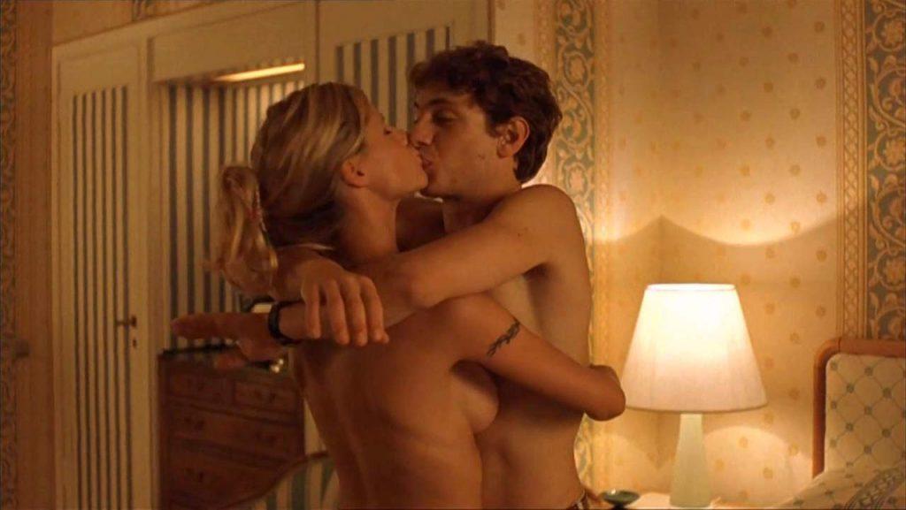 Michelle Hunziker nude naked hot sex scene